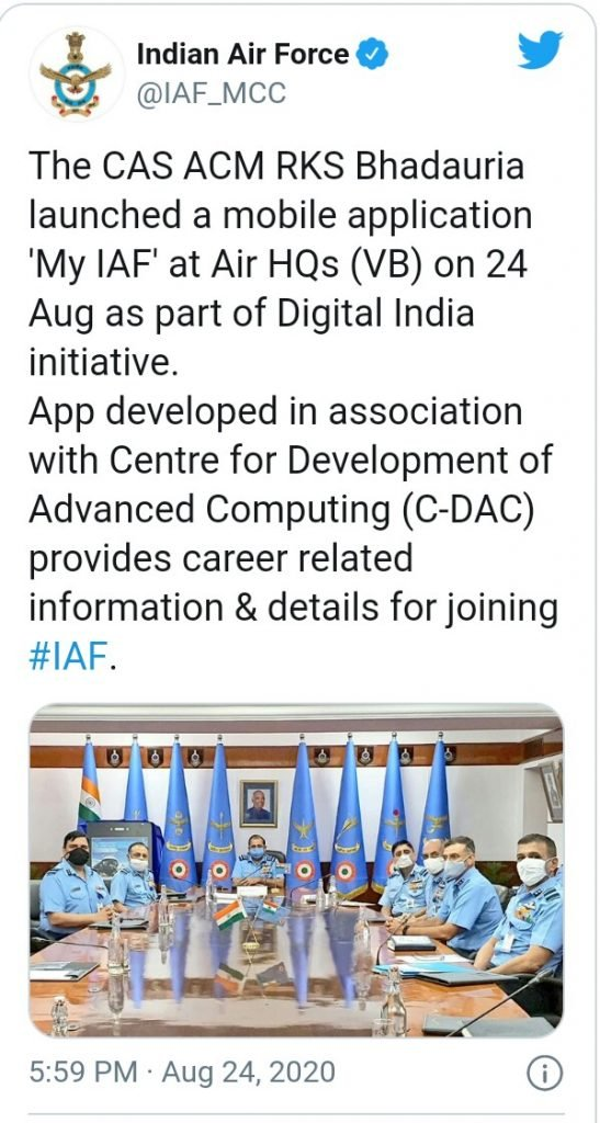 IMG 20200831 171529 539 547x1024 Indian Air Force Launched MY IAF Mobile App: Get Information on How to Join Indian Air force, IAF Job & Recruitment 2020 News
